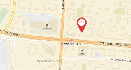 5. Притыцкого - карта