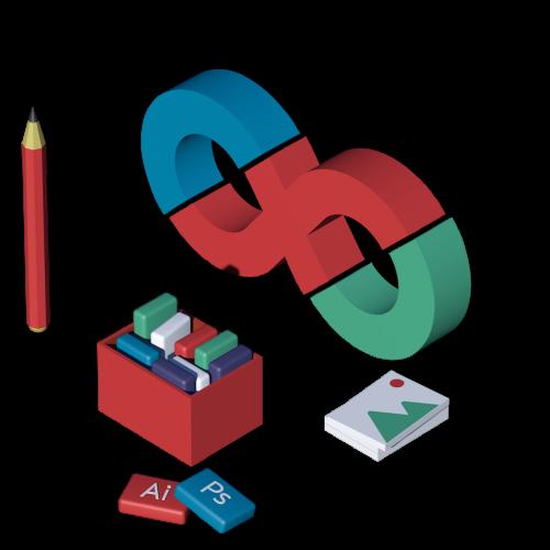 Услуги графического дизайна от Сайнском